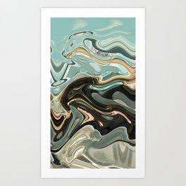 Sky Warp Art Print