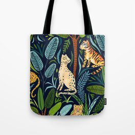 Jungle Cats Tote Bag