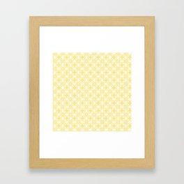 HELLO YELLOW - ANISSA DIAMOND by MS Framed Art Print