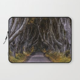 Dark Hedges alley on a sunny day Laptop Sleeve