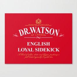 English Loyal Sidekick Canvas Print