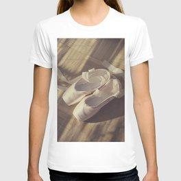 Ballet dance shoes T-shirt