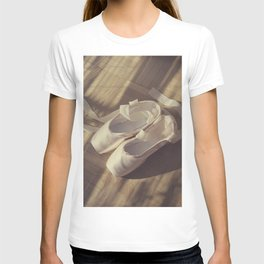 Ballet dance shoes T-shirt