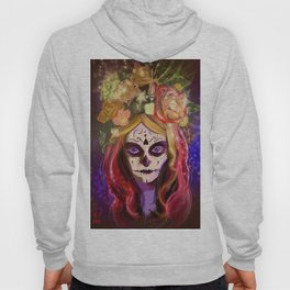 Day of the Dead Blue Eyes Hoody