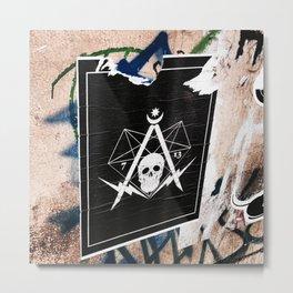 Secret society Metal Print