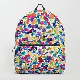 Ditsy watercolor flowers Backpack