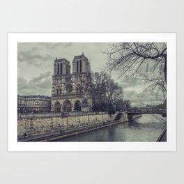 Notre Dame 1 Art Print