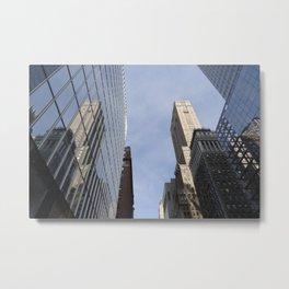 Mirror on the Wall - NYC Metal Print