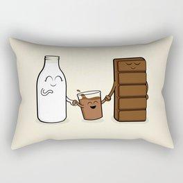 Milk + Chocolate Rectangular Pillow