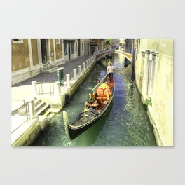 The Gondolier  Canvas Print