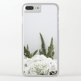 for the love of flowers 3 Clear iPhone Case