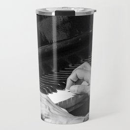 Play the Piano Travel Mug