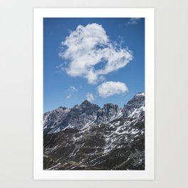 Mountain Clouds // Landscape Photography Art Print