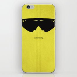 Armstrong Spectacles iPhone Skin