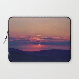 Pink and Purple Truckee Sunrise Laptop Sleeve