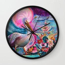 Spirit Wishes Wall Clock