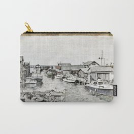 Fish Town Carry-All Pouch