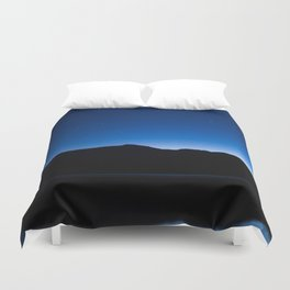 Price Lake at Blue Hour Duvet Cover