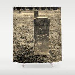 The Forgotten Graves Shower Curtain