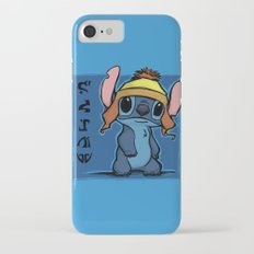 Shiny and Blue iPhone 7 Slim Case