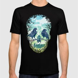 Nature's Skull (Green) T-shirt