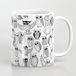 Funny owls Coffee Mug