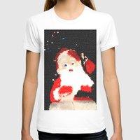 santa T-shirts featuring Santa  by Isa Fett