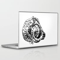 ram Laptop & iPad Skins featuring Ram by Ingrid Restemayer
