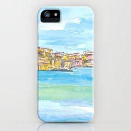Blue Mediterranean Island Dreams Elba Italy Portoferraio iPhone Case