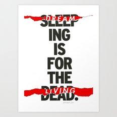 LIVING Art Print