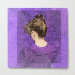 Violet Metal Print