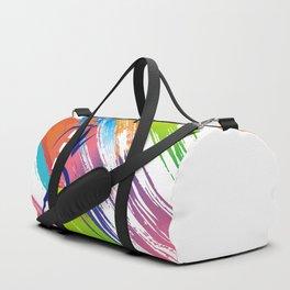 Pink Woman Runner Duffle Bag