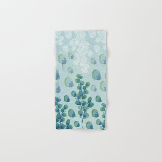 Painted floral Pattern 01 Hand & Bath Towel