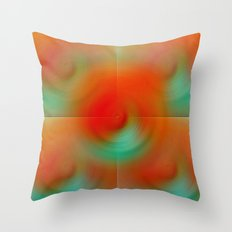 carrot and eggplant Throw Pillow