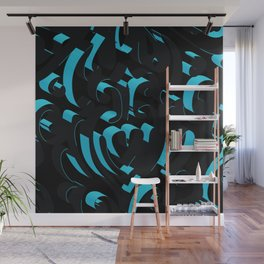 3D Abstract Ornamental Background Wall Mural