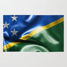 Solomon Islands Flag Rug