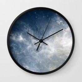 Ciel au Lait Wall Clock