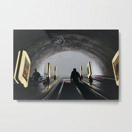 Underground in Kiev, Ukraine Metal Print