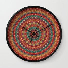 Mandala 554 Wall Clock