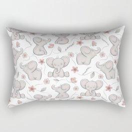 Cute elephants Rectangular Pillow