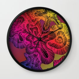 electric limpet Wall Clock