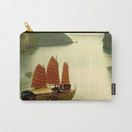 Vietnam Halong Bay Tourism Print Carry-All Pouch