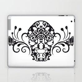 SKULL FLOWER 04 Laptop & iPad Skin