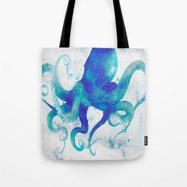 Octopus Watercolor Tote Bag