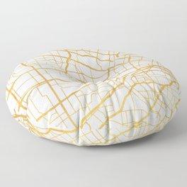 ST. LOUIS MISSOURI CITY STREET MAP ART Floor Pillow