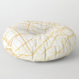 ST. LOUIS MISSOURI CITY STREET MAP ART Floor Pillow