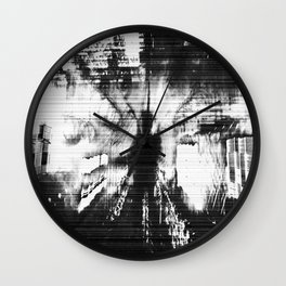 Lo-Fi Frequency  Wall Clock