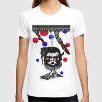 clown T-shirts featuring CLOWN by AKIKO