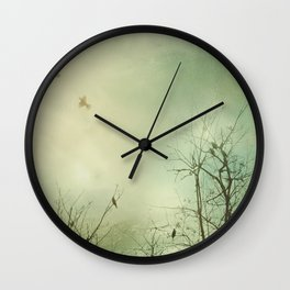 Fly Away With Me 2 Wall Clock
