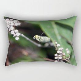 Monarch Caterpillar Rectangular Pillow